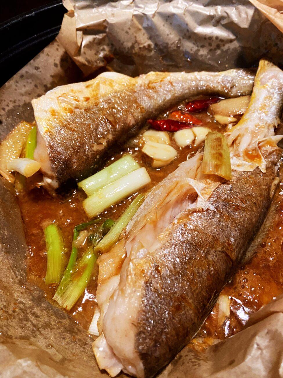 Braised Weakfish (san ya yu)